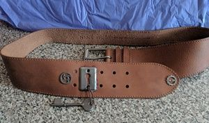 Handcrafted UPCYCLED STEAMPUNK  BELT OOAK L/XL